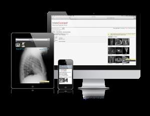 Intelerad InteleConnect referring physician portal